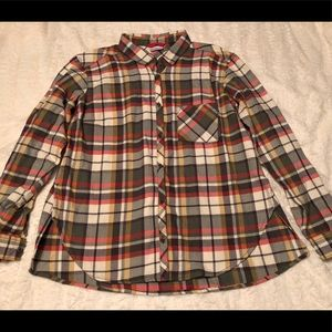 Columbia Long Sleeve Button Down Flannel